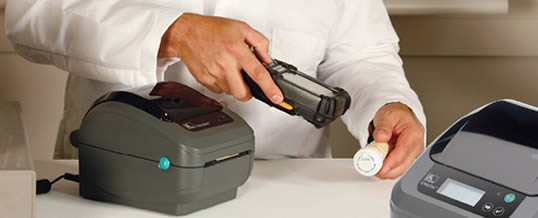 Impresora de etiquetas Zebra GK-420D